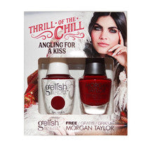 Gelish Gel 4, 1110280, Thrill Of The Chill Collection, Angling For A Kiss, 0.5oz KK