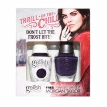 Gelish Gel 4, 1110282, Thrill Of The Chill Collection, Don't Let The Frost Bite!, 0.5oz KK