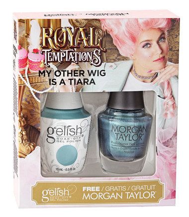 Gelish Gel 3, 1110293, Royal Temptations Collection, My Other Wig Is A Tiara, 0.5oz KK