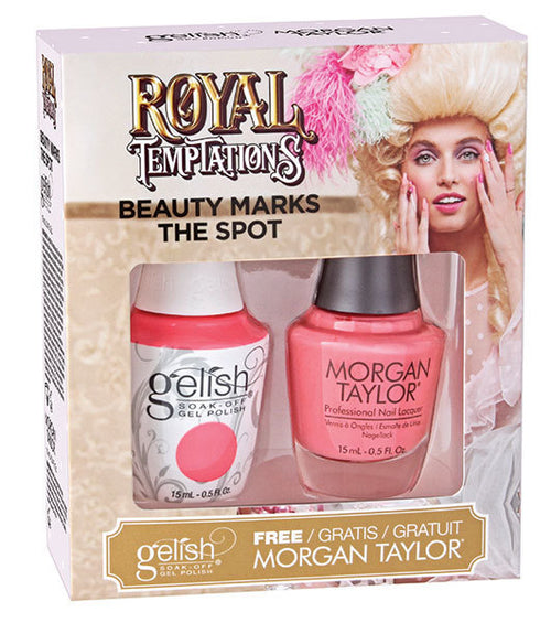 Gelish Gel 3, 1110297, Royal Temptations Collection, Beauty Marks The Spot, 0.5oz KK