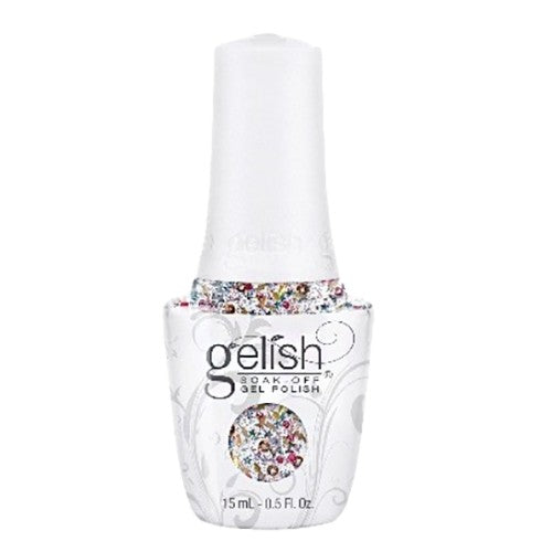 Gelish Gel 3, 1110299, Royal Temptations Collection, Over The Top Pop, 0.5oz KK