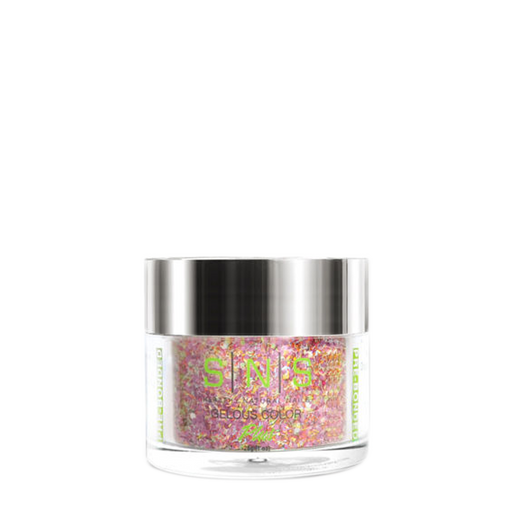 SNS Gelous Dipping Powder, GL11, Glitter Collection, 1oz KK0724