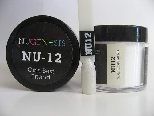 Nugenesis Dipping Powder, NU 012, Girls Best Friend, 2oz KK1003