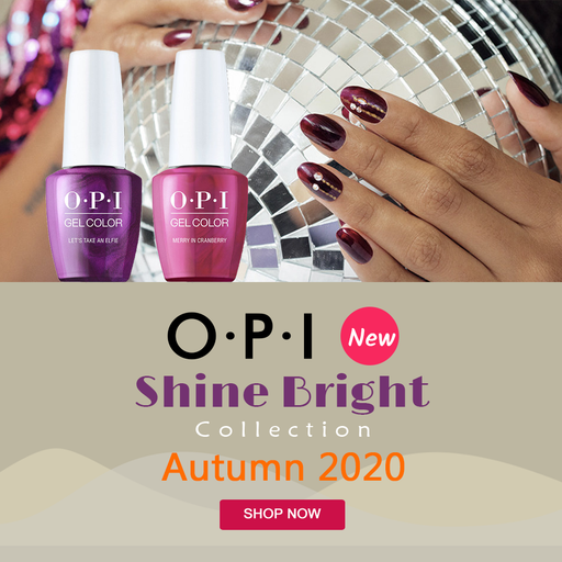 OPI Gelcolor, Shine Bright Collection 2020, Full Line Of 12 Colors (From HPM01 To HPM12), 0.5oz OK0812VD