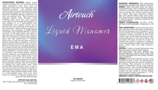 Airtouch Liquid 303 Fragrance (EMA - No MMA), 1Gal (Packing: 4 pcs/case)
