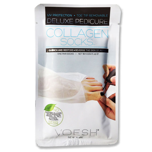 VOESH Deluxe Manicure, Collagen Socks KK