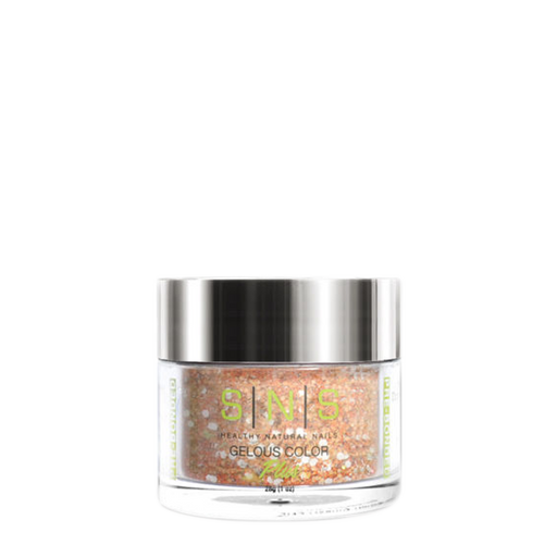 SNS Gelous Dipping Powder, GL12, Glitter Collection, 1oz KK