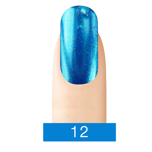 Cre8tion Chrome Nail Art Effect, 12 Bright Blue, 1g