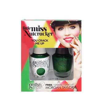 Gelish Gel 5, 1110273, Little Miss Nutcracker Collection, You Crack Me up, 0.5oz BB KK