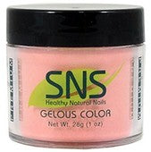 SNS Gelous Dipping Powder, 142, Gentle Carnation, 1oz BB KK