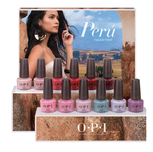 OPI Nail Lacquer 3, Peru Colection, Full line of 12 colors, 606237 KK0711
