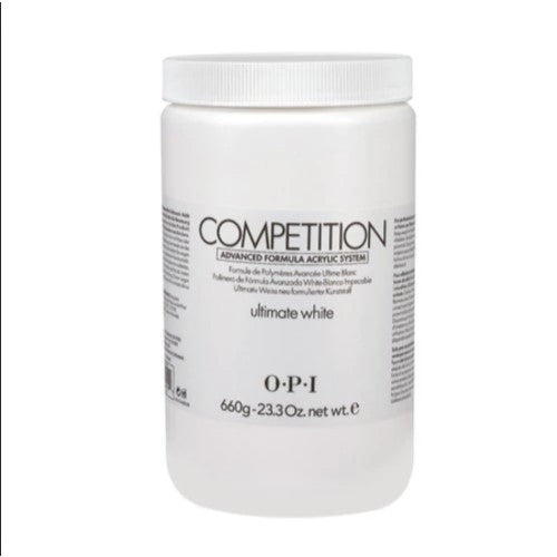 OPI Competition Powder, Ultimate White, 23.3oz