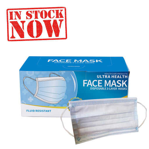 Best Quality K-Mask Ultra Health Disposable 3 Ply Face Mask, BOX, 50pcs/box OK0715VD