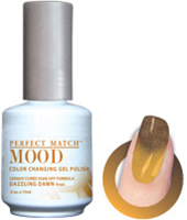 LeChat Mood Perfect Match Color Changing Gel Polish, MPMG15, Dazzling Dawn, 0.5oz KK0823 BB