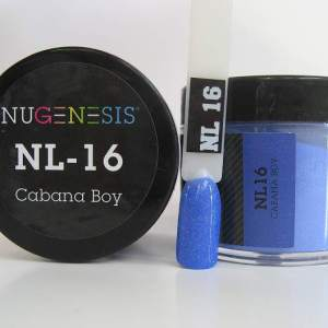 Nugenesis Dipping Powder, NL 016, Cabana Boy, 2oz KK1003