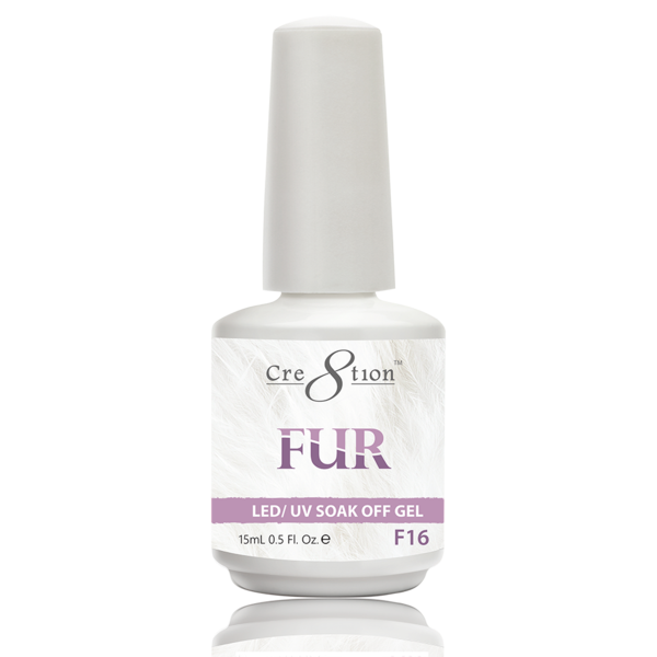 Cre8tion Fur Gel Polish, FUR16, 0916-0525, 0.5oz KK0725
