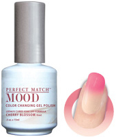 LeChat Mood Perfect Match Color Changing Gel Polish, MPMG17, Cherry Blossom, 0.5oz KK0823 BB