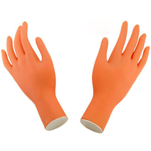 Soft Adjustable Plastic Hand Model (pair), 10032 BB