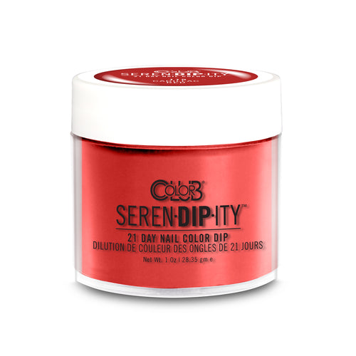 Color Club Dipping Powder, Serendipity, Cadillac Red, 1oz, 05XDIP115-1 KK