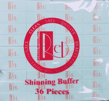 Red Shinning Buffer, Clean, 36pcs/pack