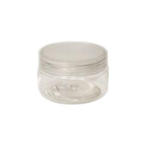 Cre8tion Clear Plastic Jar, 1oz, 26056