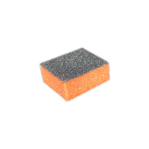 Dixon MINI 2-Way Buffer, ORANGE Foam, BLACK Grit 100/100 KK