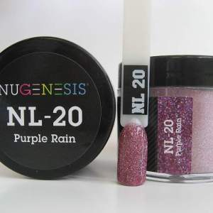 Nugenesis Dipping Powder, NL 020, Purple Rain, 2oz KK1003