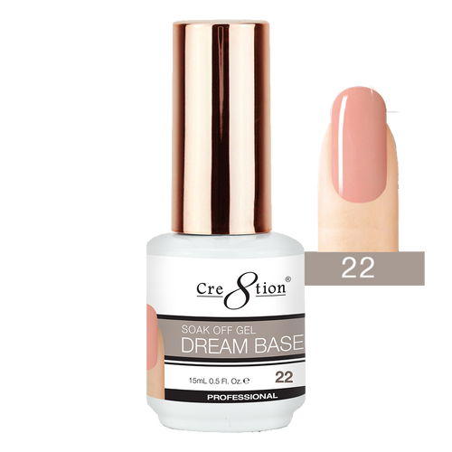 Cre8tion Dream Base Gel Polish, 0916-1580, 0.5oz, 22 KK0816