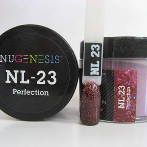 Nugenesis Dipping Powder, NL 023, Perfection, 2oz KK1009