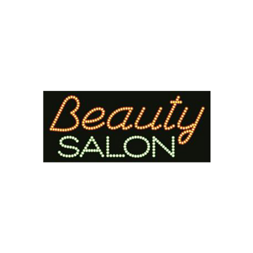 "Cre8tion LED Signs ""Beauty Salon #2"", B#0302, 23001 KK BB"