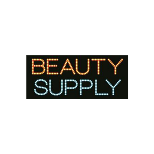 "Cre8tion LED Signs ""Beauty Supply"", B#0401, 23002 KK BB"