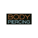 "Cre8tion LED Signs ""Body Piercing #2, B#0502, 23004 KK BB"