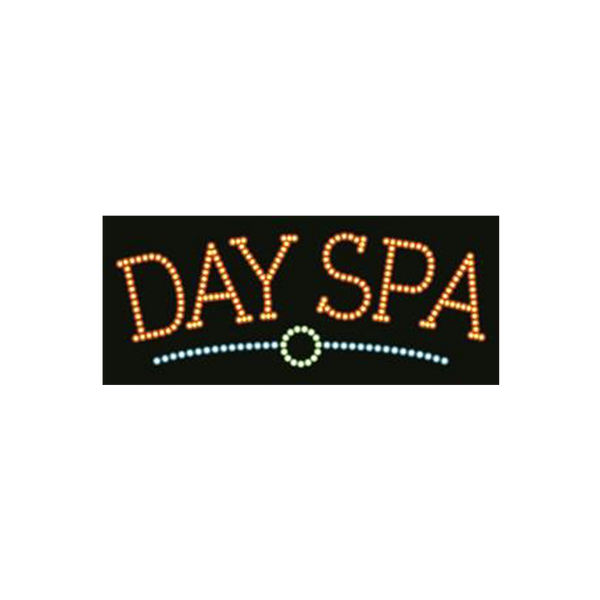 "Cre8tion LED Signs ""Day Spa #2"", D#0102, 23008 KK BB"