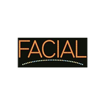 "Cre8tion LED Signs ""Facial #2"", F#0103, 23013 KK BB"