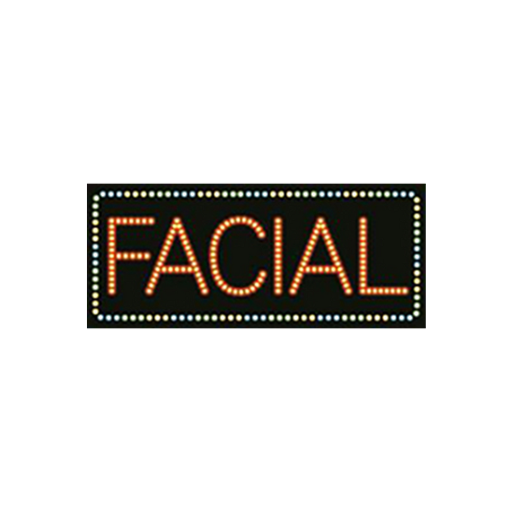 "Cre8tion LED Signs ""Facial #3"", F#0104, 23014 KK BB"