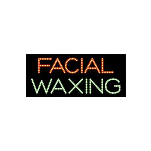 "Cre8tion LED Signs ""Facial Waxing #1"", 23016 KK BB"