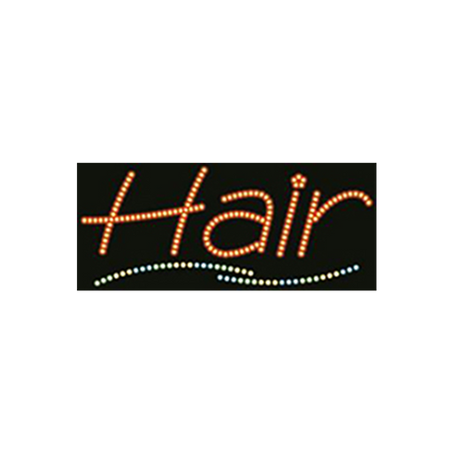 "Cre8tion LED Signs ""Hair #1"", H#0101, 23022 KK BB"