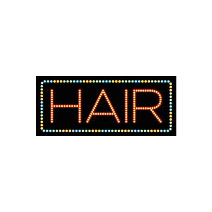 "Cre8tion LED Signs ""Hair #2"", H#0102, 23023 KK BB"