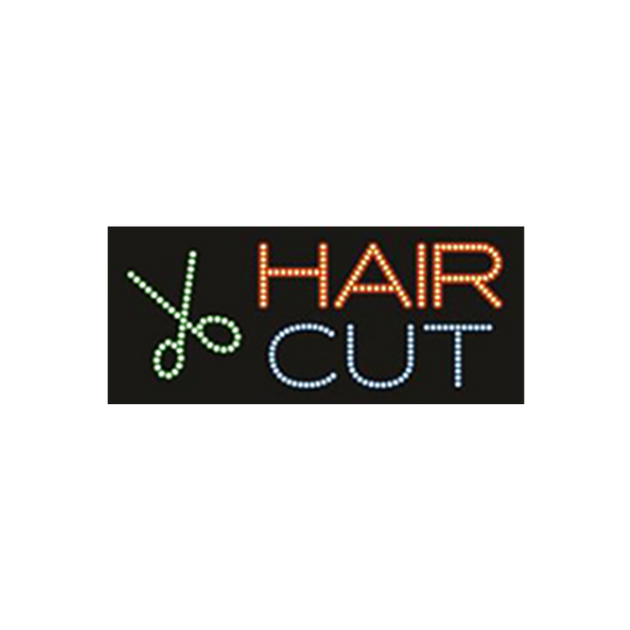 "Cre8tion LED Signs ""Hair Cut #1"", H#0301, 23028 KK BB"