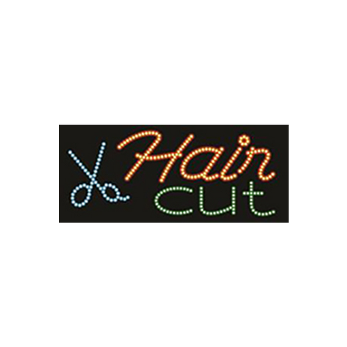 "Cre8tion LED Signs ""Hair Cut #2"", H#0303, 23029 KK BB"