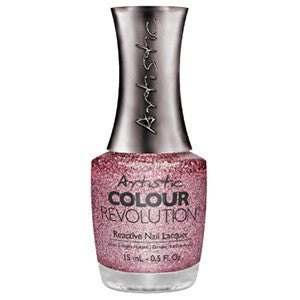 Artistic Colour Revolution, 2303035, Princess, Pink Holographic Glitter, 0.5oz