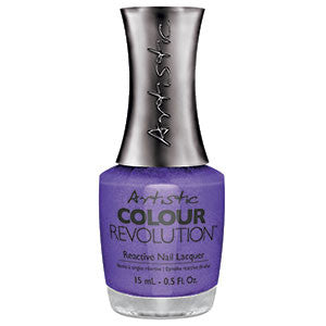 Artistic Colour Revolution, 2303085, Caviar for breakfast, Blue Violet Shimmer, 0.5oz