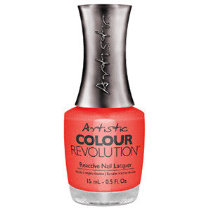 Artistic Colour Revolution, 2303087, Haute Cout-Orange, Dark Coral Shimmer, 0.5oz