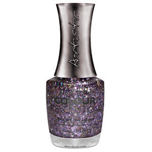 Artistic Colour Revolution, 2303151, Betrayal, Purple Glitter, 0.5oz