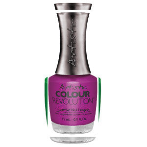 Artistic Colour Revolution, 2303170, Hear Me Roar, Electric Purple Crème, 0.5oz