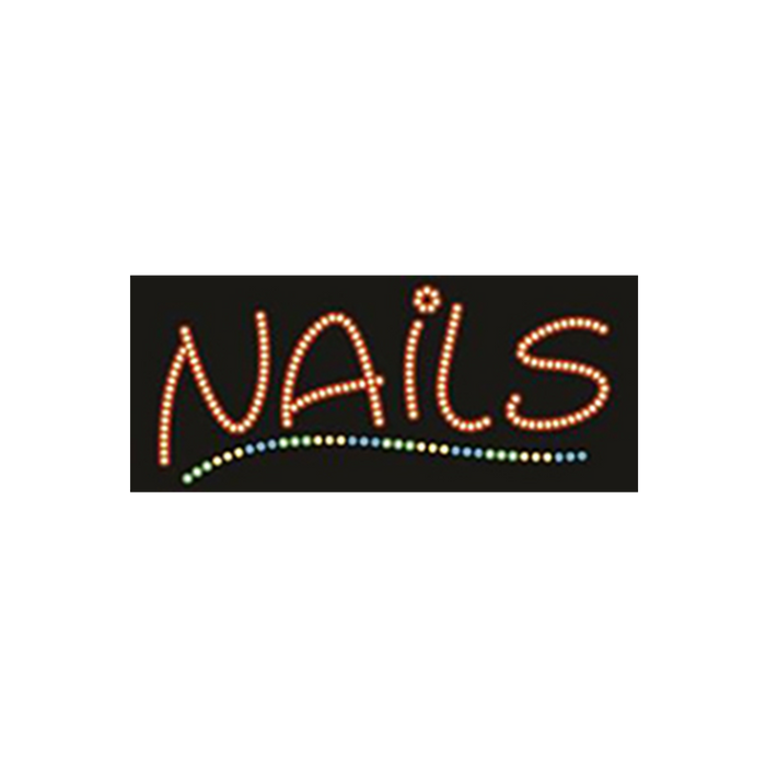 "Cre8tion LED Signs ""Nails #1"", N#0101, 23033 KK BB"