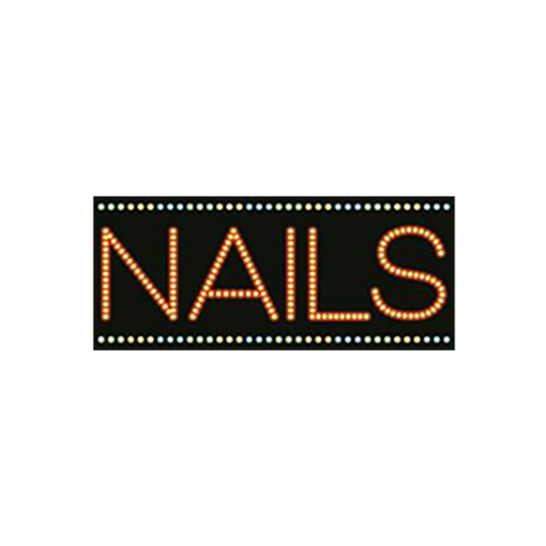"Cre8tion LED Signs ""Nails #2"", N#0101, 23034 KK BB"
