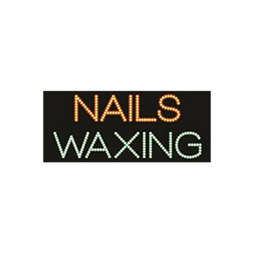 "Cre8tion LED Signs ""Nail Waxing"", N#0701, 23050 KK BB"