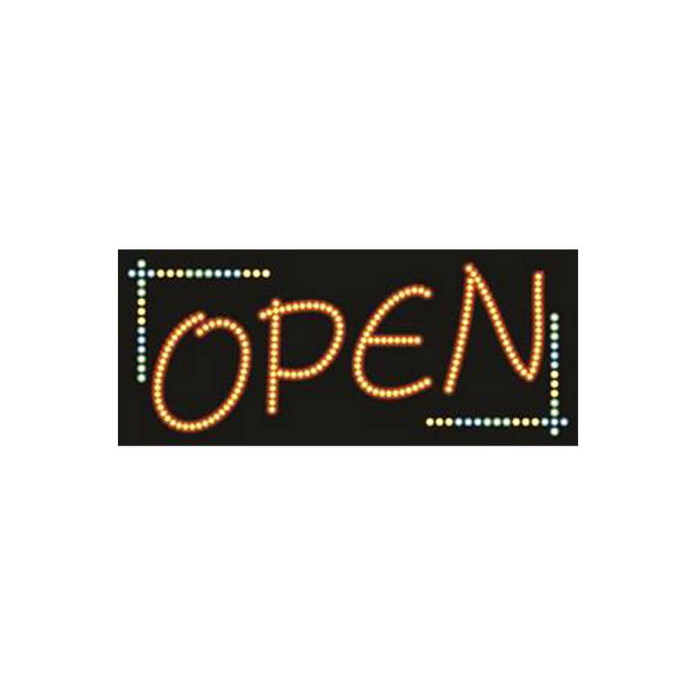 "Cre8tion LED signs ""Open #4"", O#0104, 23056 KK BB"