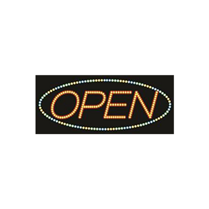 "Cre8tion LED signs ""Open #6"", O#0106, 23058 KK BB"